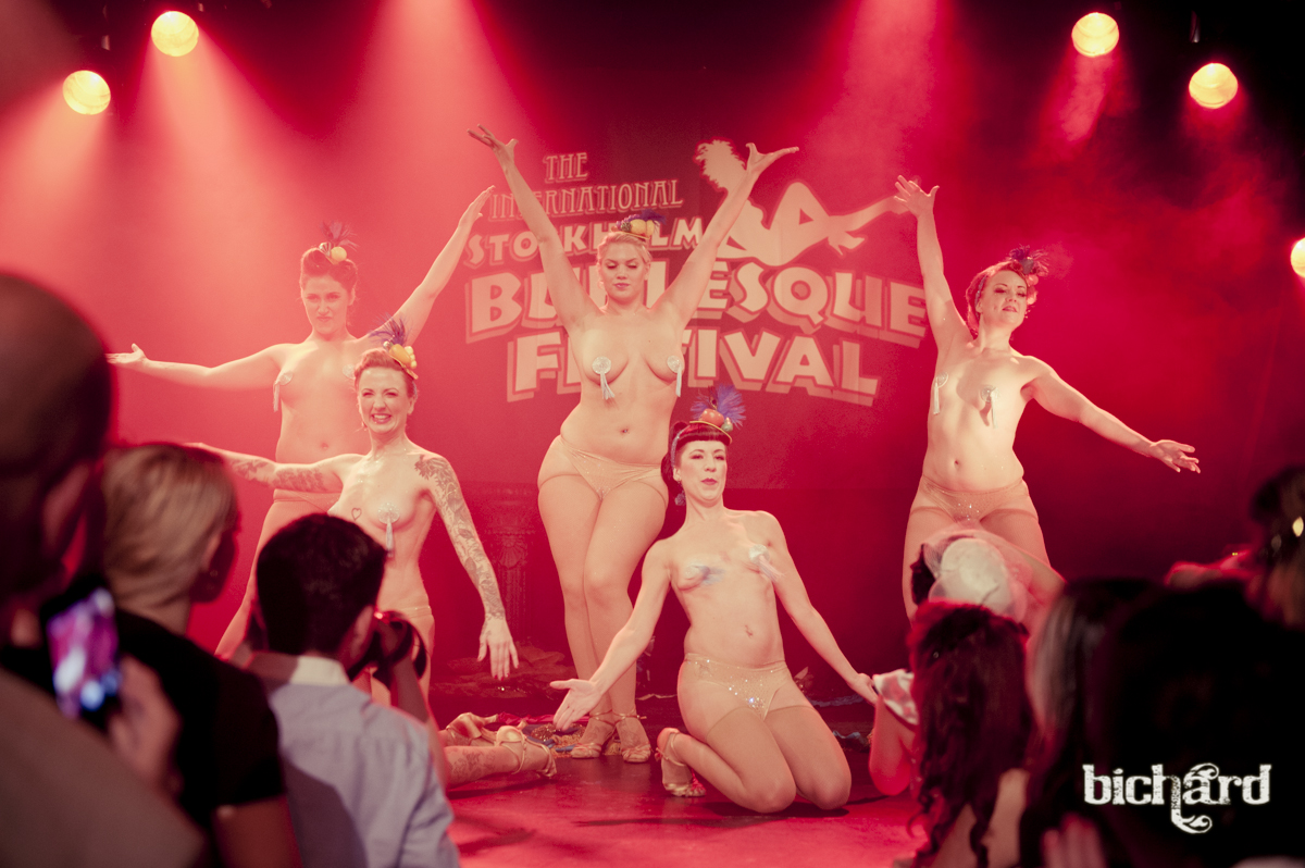 Stockholm Burlesque Festival - John Paul Bichard - The Amazing Knicker Kittens